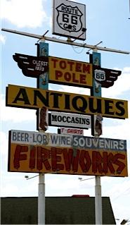 Totem Pole sign