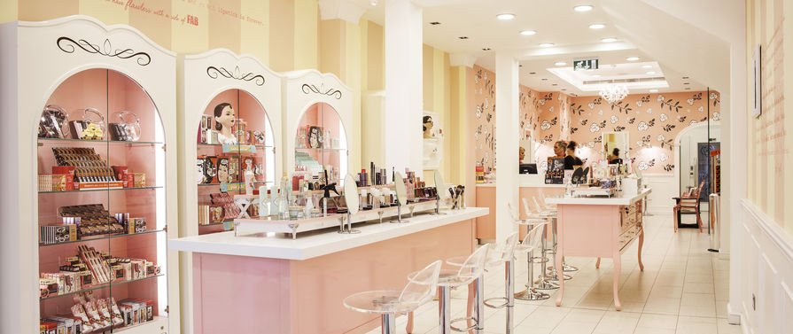 benefit salon inside