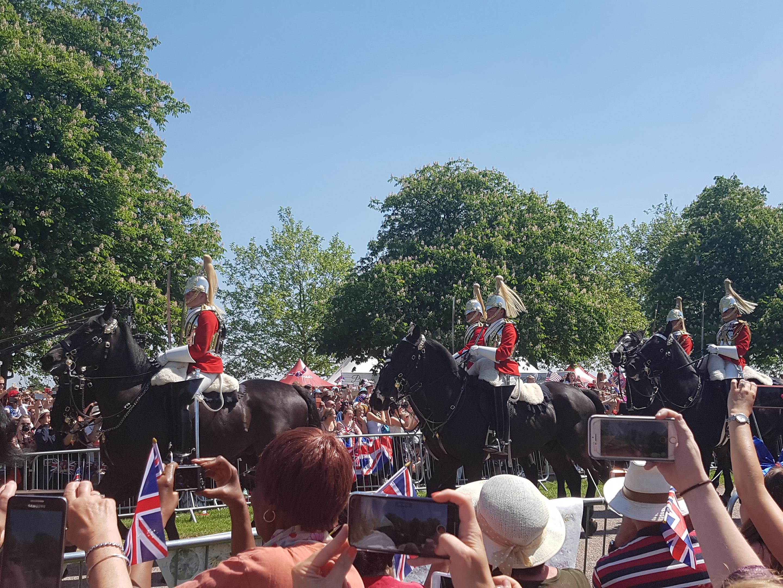 Cavalry on horses